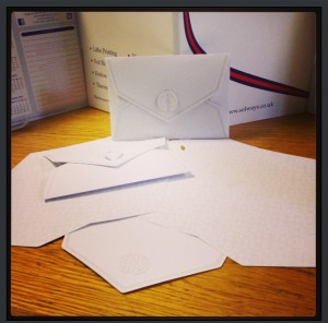 BESPOKE DIE-CUT ENVELOPE Quality Printing London by Solways Printers