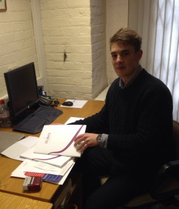 NEW INTERN at SOLWAYS PRINTERS | Quality printing London