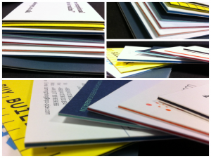 Duplexed and Triplexed Business Cards Printed at Solways Printers Quality Printing London