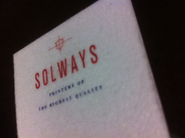 Solways Latest | Furry Business Card | Solways Printers Quality Printing London