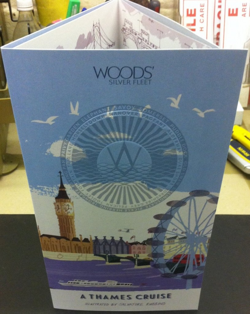 Wood's Silver Fleet River Map | Solways Printers Quality Printing London