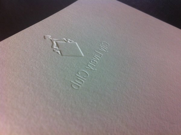 Embossing | Solways Printers Quality Printing London