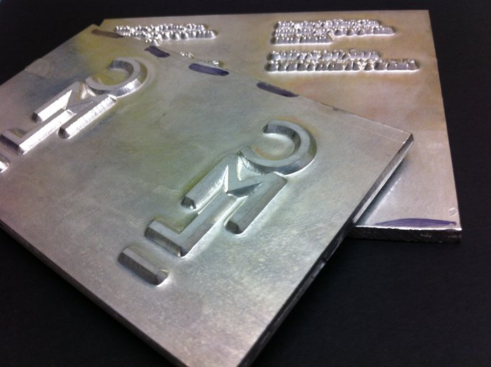 Foiling Dies For The High Qualty Business Card | Solways Printers Quality Printing London