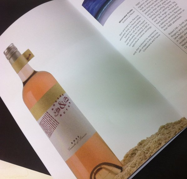 Lithography CMYK | Negociants Wine Brochure | Solways Printers Quality Printing London