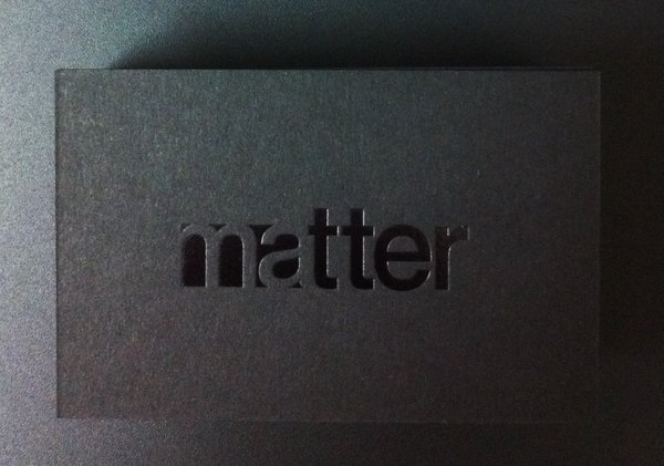 Matter Business Cards | Clear Gloss Foil | Solways Printers Quality Printing London