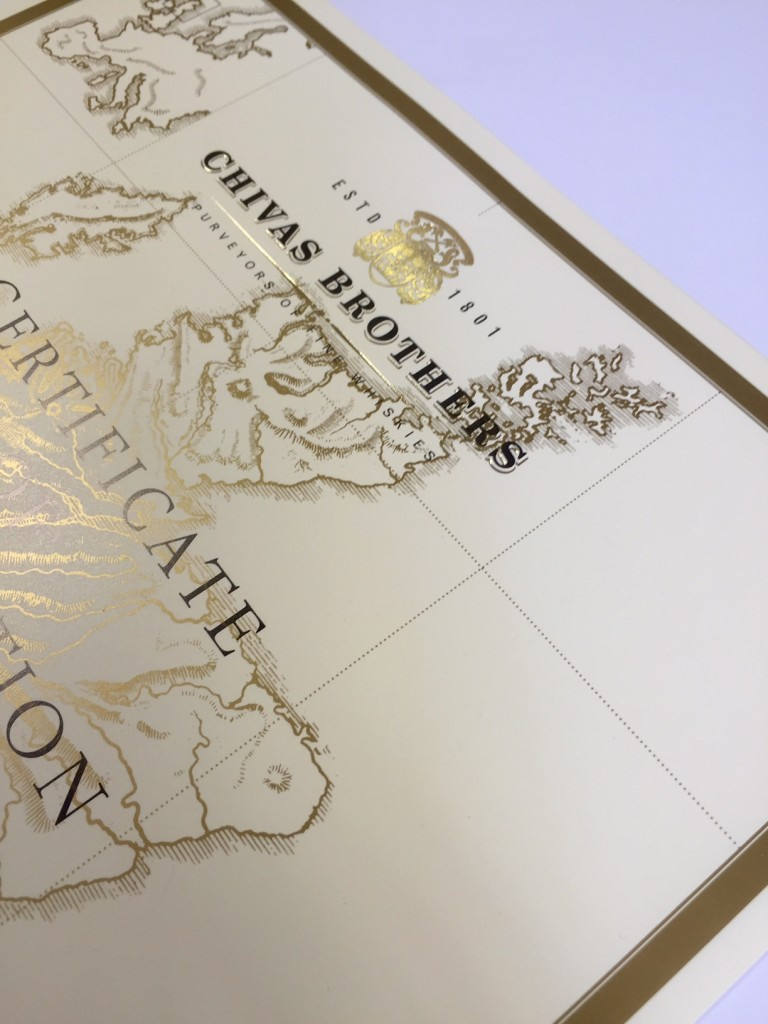 Luxury printed certificates | Solways Quality Printing London
