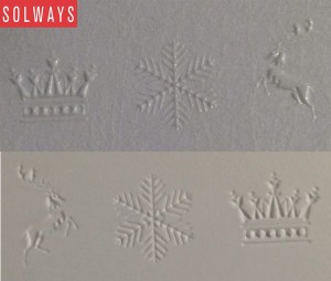 Clear foil, emboss, litho silver pms 877u | Solways Printers Quality printing London