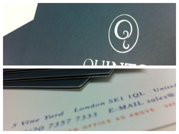 Thick Business Cards Solways Quality Printing London