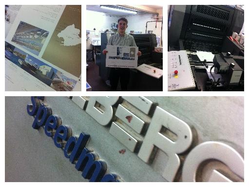 Solways Printers Heidelberg Speedmaster   Sunseeker's Leaflets for the London Boat Show 201