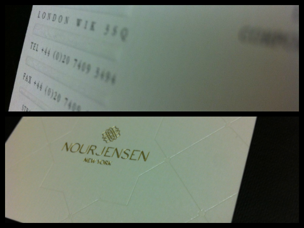 Previous Design Projects | Examples Of Embossing/Debossing | Solways Printers Quality Printing London