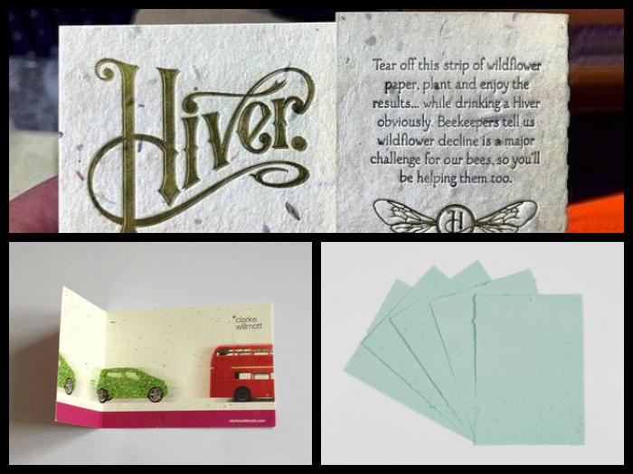 Wildflower Seeded paper | Ellie Poo Paper | Solways Printer Quality Printing London