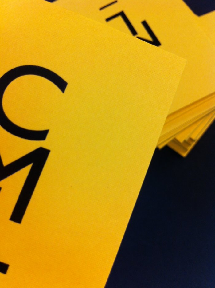 Textured Business Cards With Matt Black Foil | Solways Printers Quality Printing London