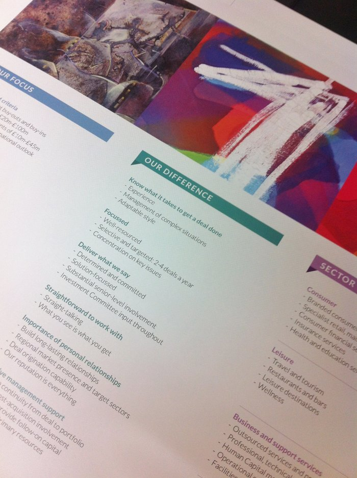High Quality Corporate Marketing Materials | Presentation Covers