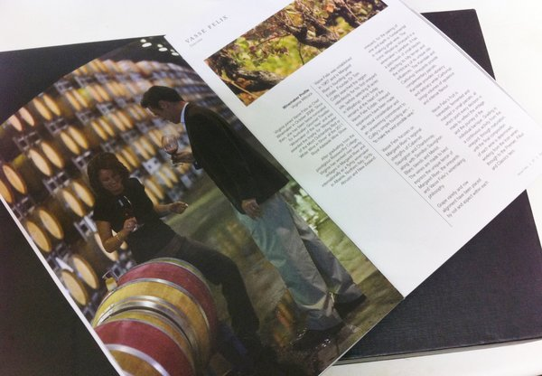 Lithography CMYK   Negociants Wine Brochure   Solways Printers Quality Printing London