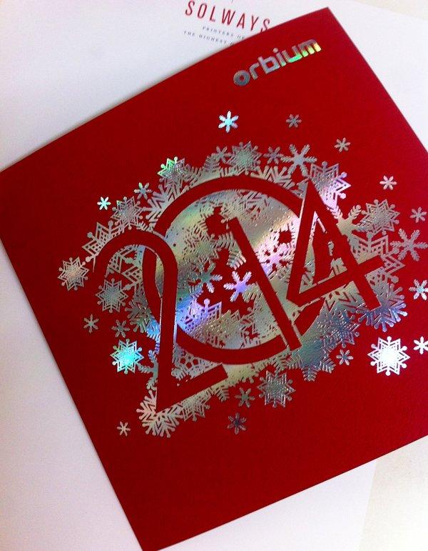 Bespoke Christmas card | Solways Printers Quality Printing London